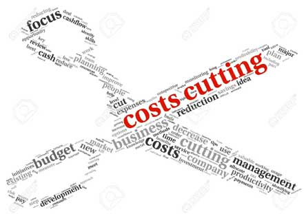 cost cutting is a new method to make your product more reasnable, we will cut your expense so your costing will decrease & you can cut your product rate & cover more market share